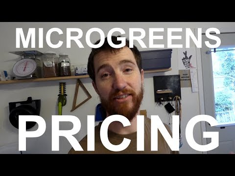 How to price your microgreens