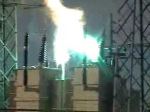 Department of energy substation transformer explosion in Cheyenne Wyoming