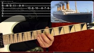 TITANIC Theme - Guitar Lesson - Beginners