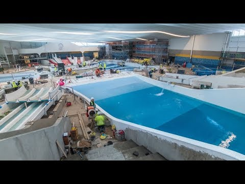 Behind the scenes of our new pool in Butlin's Bognor Regis