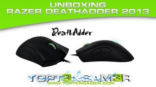 Razer Deathadder 2013 RZ01-00840100-R3U1 Unboxing and Review