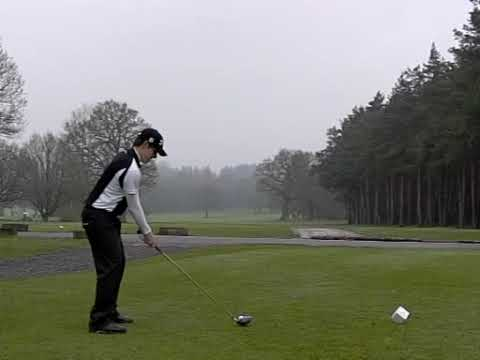 Adrian Stuart - Driver Slow Motion Leatherhead Golf Club