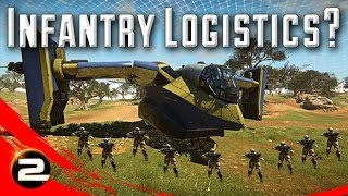 More Infantry Logistics in PlanetSide 2?