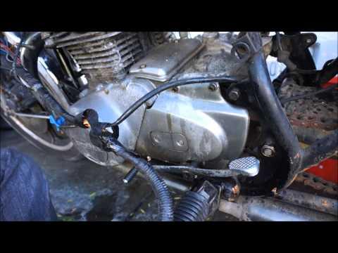 kz400 restoration part 3 wiring harness removal kz400 restoration part 3 wiring harness removal