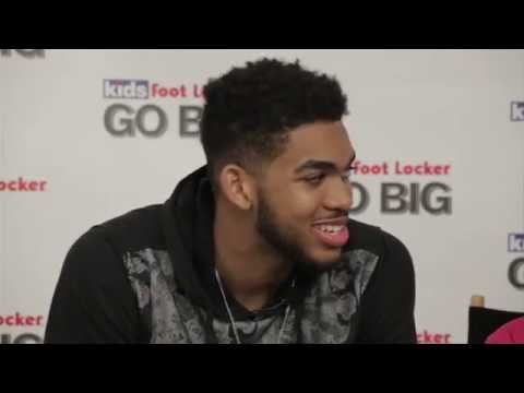 Kids Foot Locker x Karl-Anthony Towns - Media Training