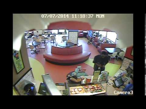Forney Police Department needs your help!!! Schlotzsky's was robbed at gunpoint on
