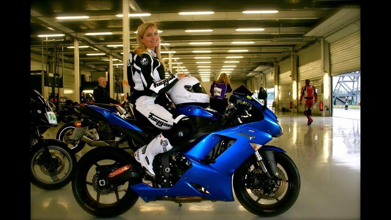 Suzy S Bike World Video Diary Ladies Track Day Youtube