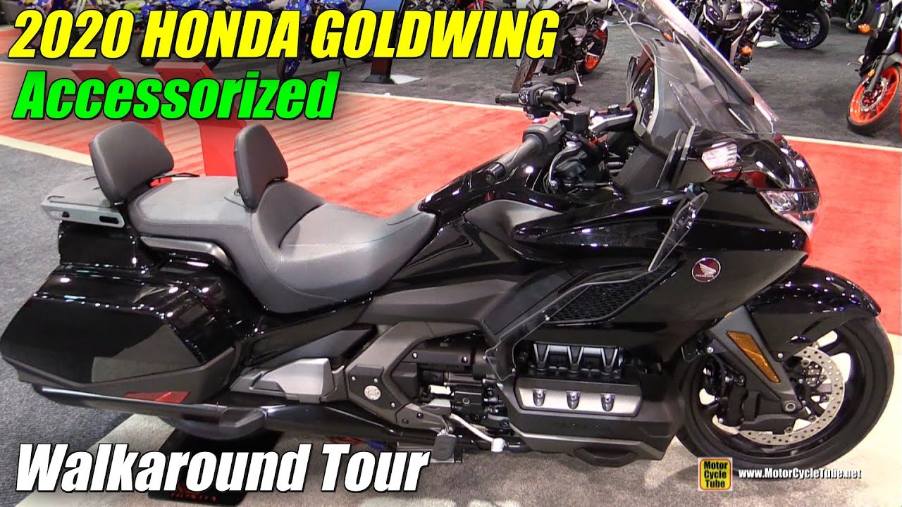 2019 honda goldwing accessorized - walkaround - 2019 quebec motorcycle show