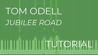 Tom Odell - Jubilee Road (Piano Tutorial)