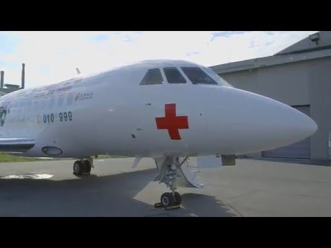 Special Mission Falcons - Medevac Falcon 2000LX