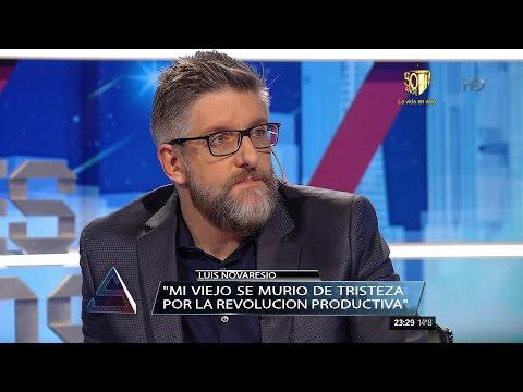 Luis Novaresio, íntimo, contó a quiénes no entrevistaría más