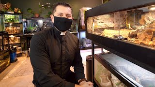 The Most INCREDIBLE Naturalistic Fish and Reptile Room EVER (Tour)