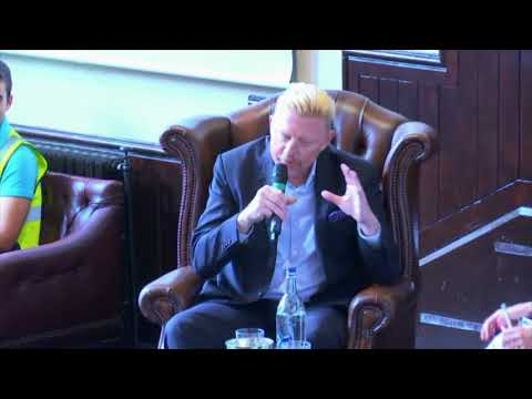 Boris Becker | Cambridge Union