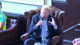 Boris Becker   Cambridge Union