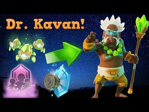 How To Unlock Dr. Kavan :: New Boom Beach Hero!