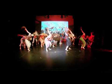 Spettacolo Officina Tribale 2016: Afro Allegria