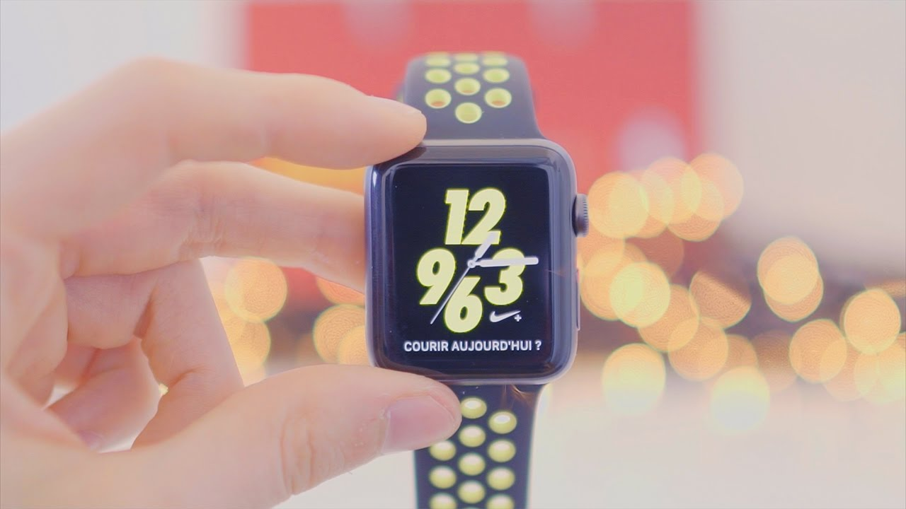 promo code a2479 ad7b4 Présentation Apple Watch Nike+ (Special Edition) - YouTube