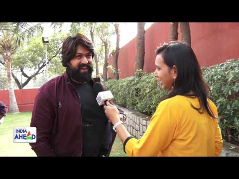 Exclusive Interview : Yash on K.G.F | IndiaAheadNews