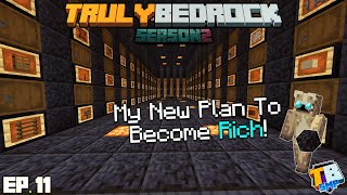 The Best Way to Mine Blackstone | TrulyBedrock Season 2 [#11] | Minecraft Bedrock Edition SMP Server