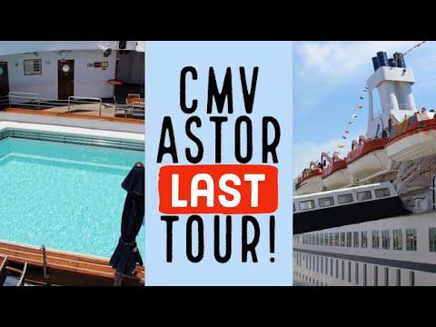 CMV Astor Cruise Ship - Full Tour (1040 HD) of the cruise ship Astor.