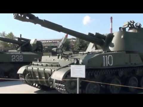 Музей боевой техники под открытым небом в г. Верхняя Пышма