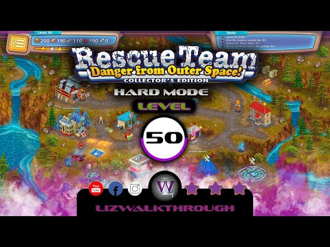 Rescue Team 10 CE - Level 50 Walkthrough - Danger from Outer Space! |