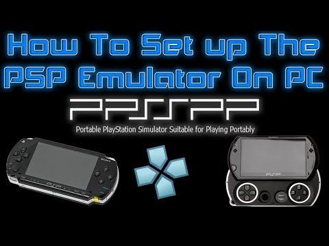 How To Set Up The  PSP Emulator On PC Windows 7 8 10