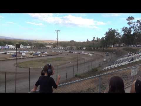 Santa Maria Speedway 7-26-16 CDCRA Dwarf Heat Race 1
