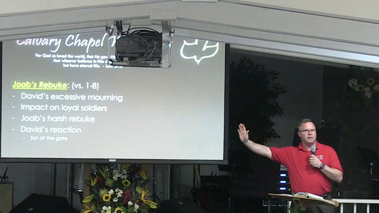 20 March 2019 | CCWO's Midweek study 2 Samuel 19 | Pastor Dan Jacobson