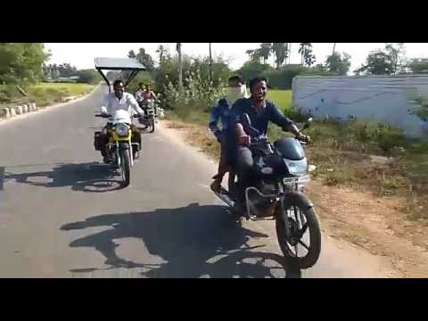 Solar bike with out fuel running 80kmpl...