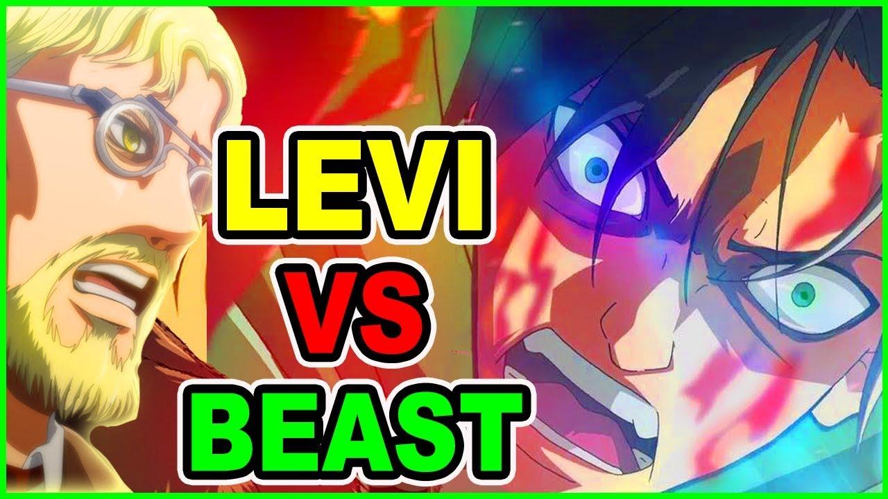 LEVI VS BEAST TITAN SECRET Assault! Attack on Titan Chapter 103 Discussion