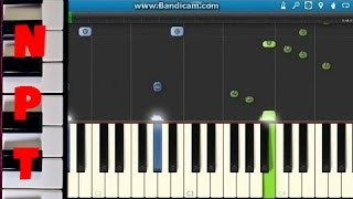 Pitbull Ft. Kesha - Timber Piano Tutorial (how To Play On Synthesia)