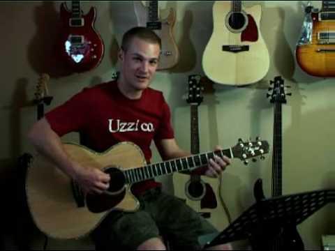 Guitar Lesson - Nickelback, Gotta be somebody