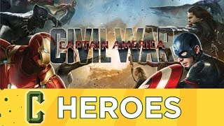 Collider Heroes - Civil War Leaked Trailer Discussion, Wes Craven RIP
