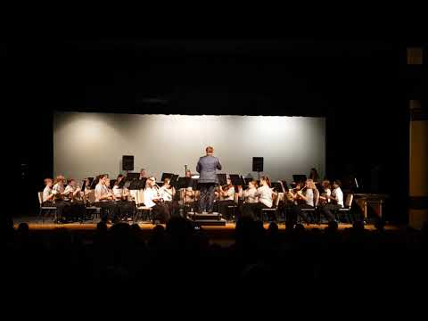 Bad Axe Middle School Concert Band  Spring Concert 2018