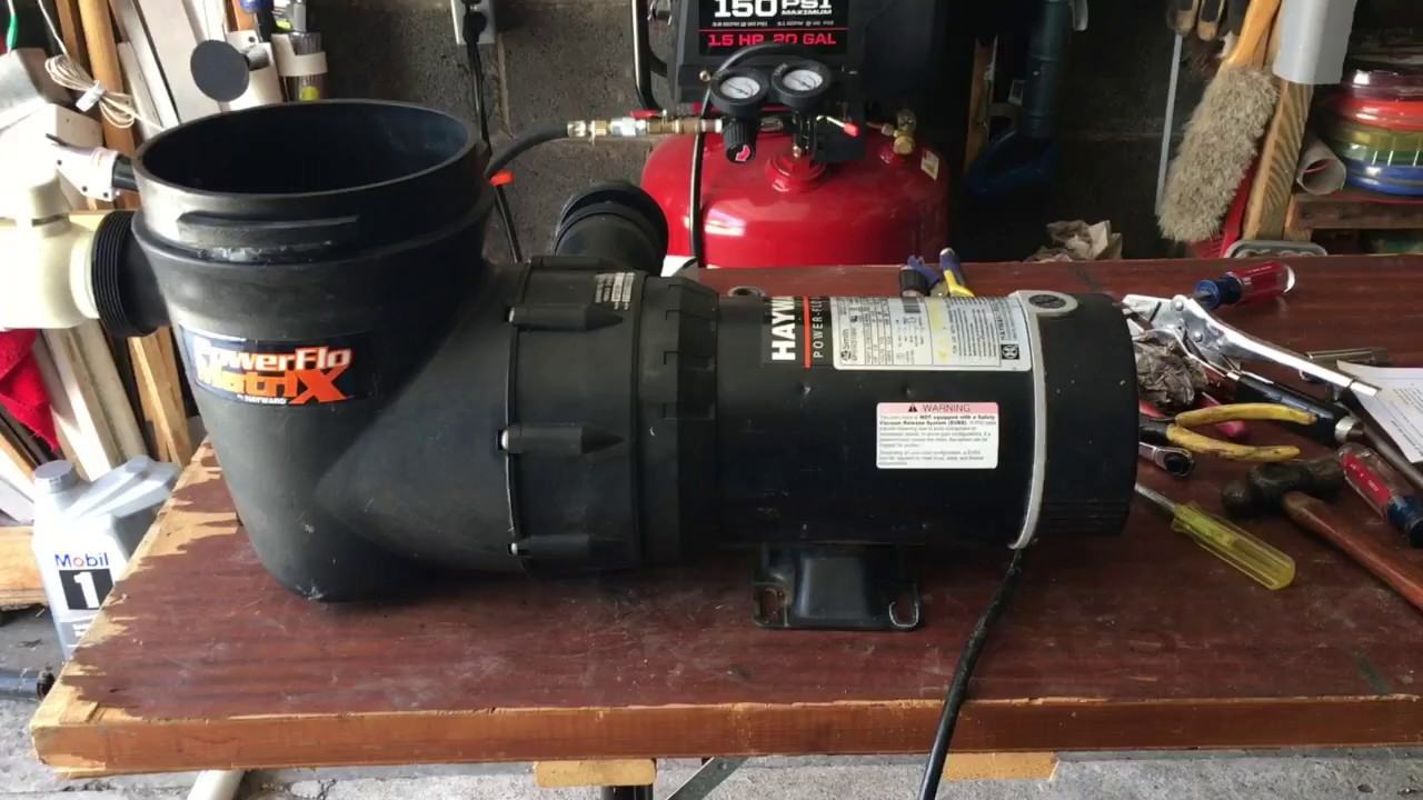 Hayward Sp15921fp Pool Pump Leak Repair Youtube