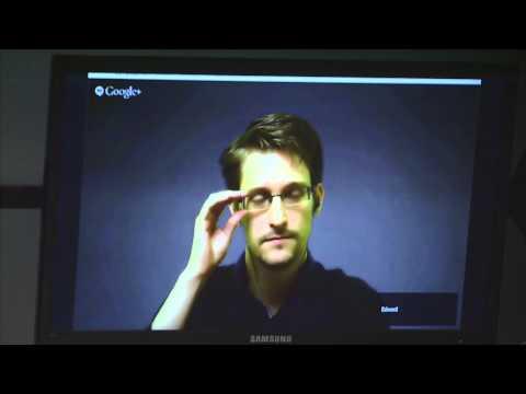 Ed Snowden keynote at #EncryptNews