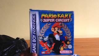 Unboxing Mario Kart Super Circuit