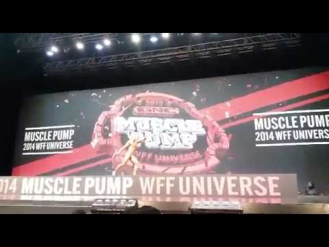 Thomas Buser (SUI) WFF Universe 2014 in Seoul, South Korea, Men Fitness
