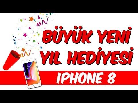 Büyük Yeni Yıl Hediyesi - iPhone 8