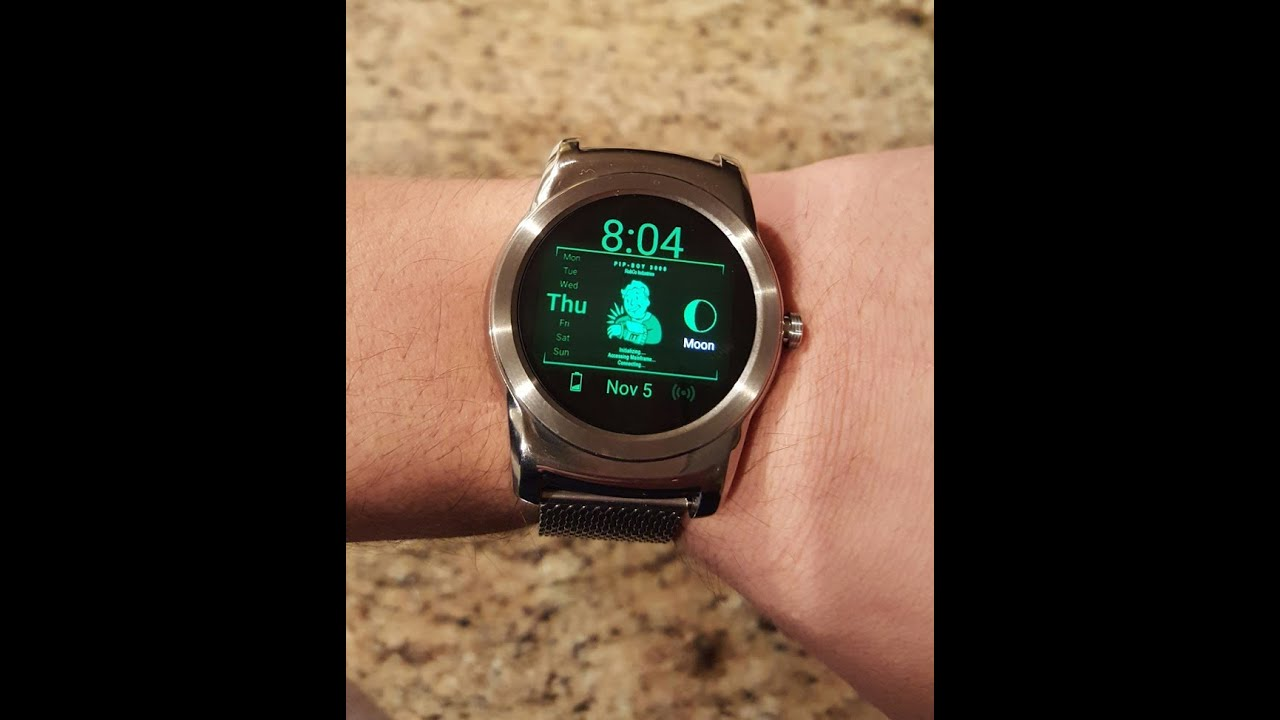 Pip Boy Watch Face for Android Wear & Fallout Pip-Boy App for Android