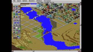 SimCity 2000 Gameplay - Building a City from Start to Finish w/ Nuclear Meltdown