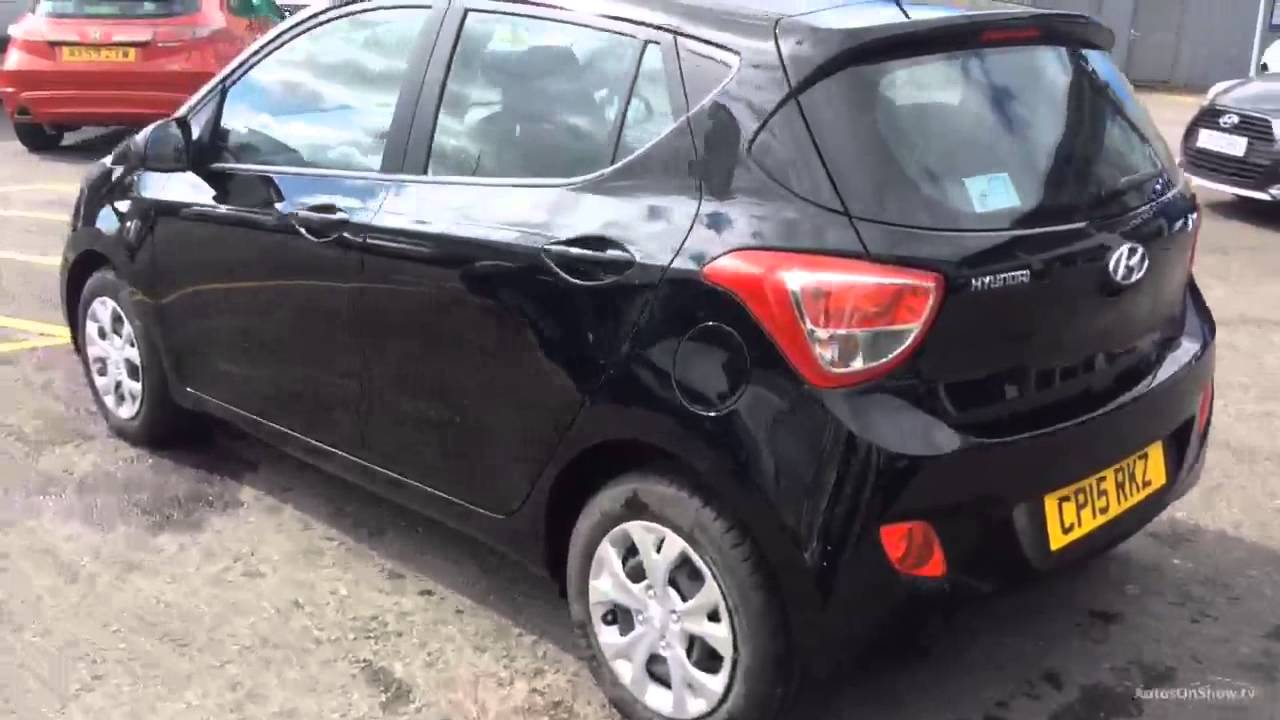 Hyundai I10 Se Black 2015 Youtube