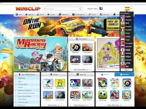 Top 10 De Las Mejores Paginas Webs Para Jugar Juegos Online Youtube