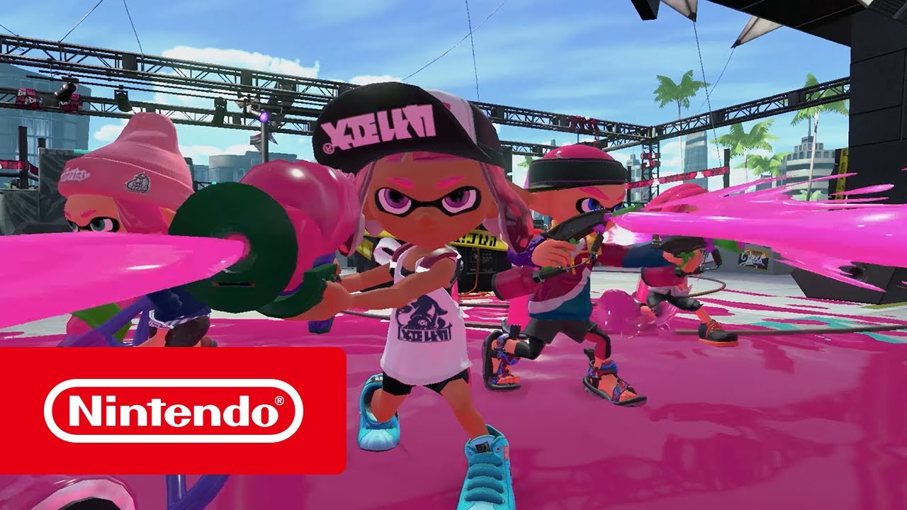 Splatoon 2 Trailer Nintendo Switch Youtube