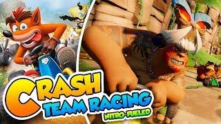 ¡Mira como te gano Papu! - #02 - Crash Team Racing Nitro-Fueled (PS4 Pro) DSimphony