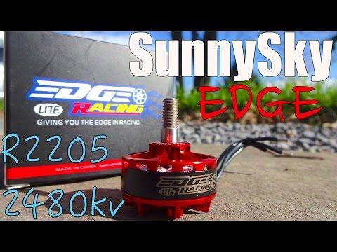 SunnySky Edge R2205 2480kv Lite : Overview and Thrust Test