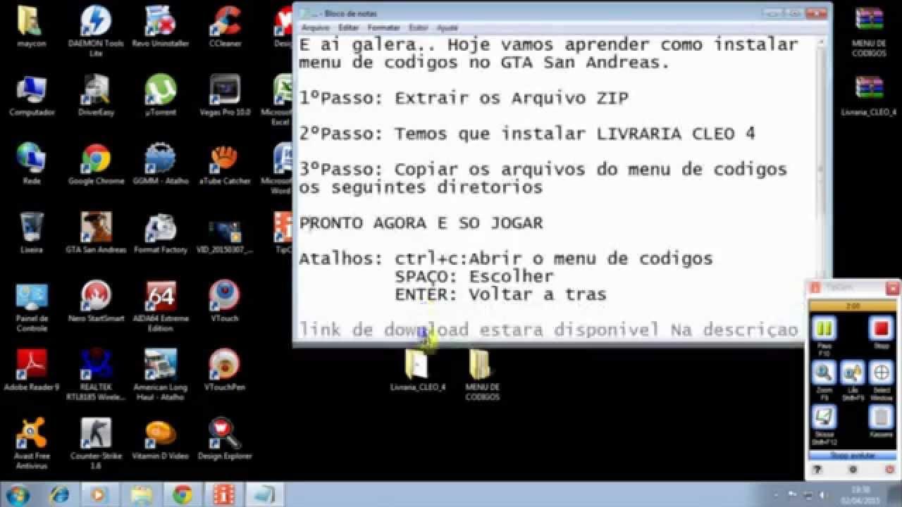 download codigos gta san andreas pc pdf