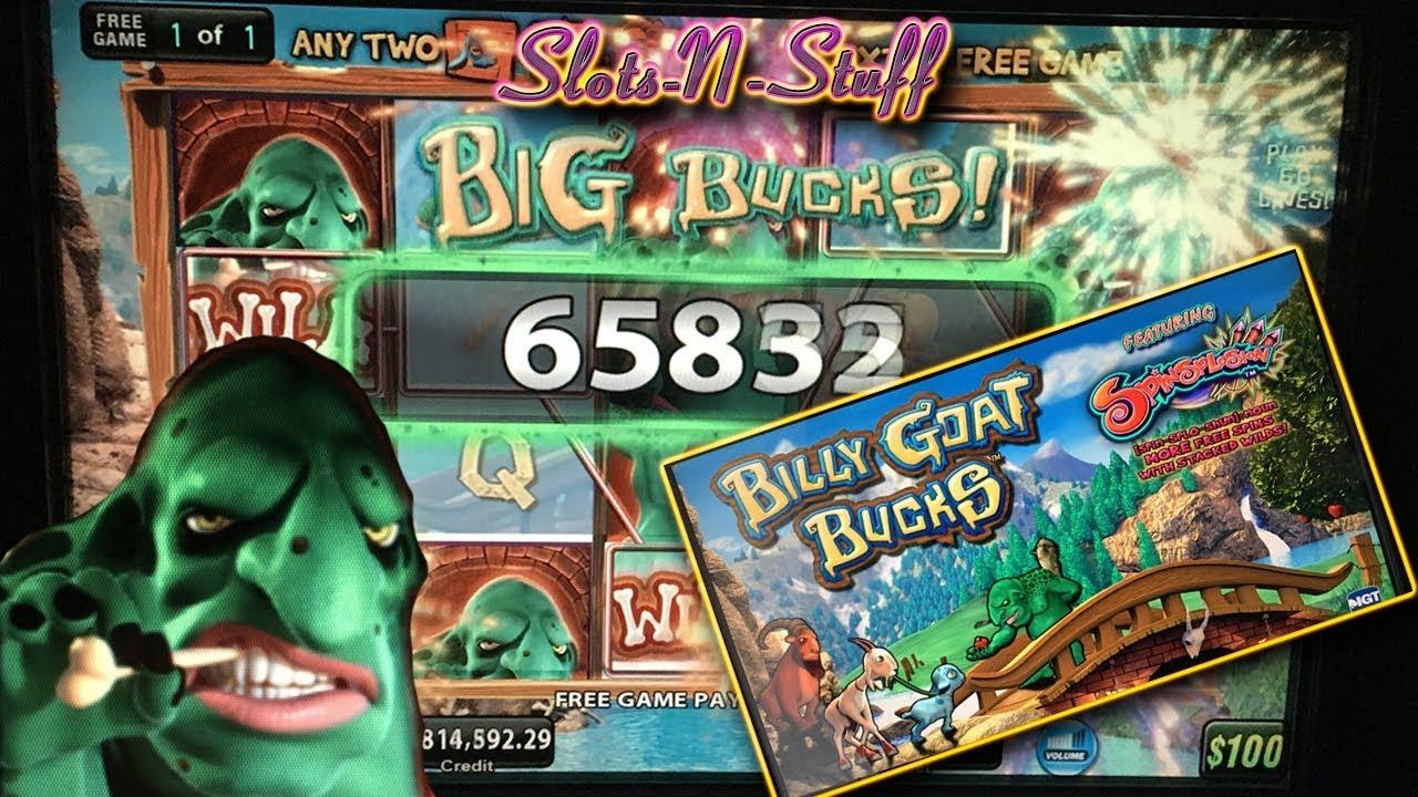 billy goat bucks slot machine