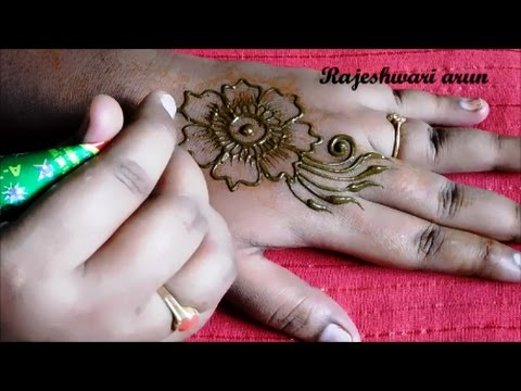Simple Easy Henna Mehndi Designs For Hands For Beginners Mehndi